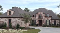 Graceful and Elegant 4 Bed Acadian House Plan - 14127KB | 1st Floor Master Suite, Acadian, Bonus Room, Butler Walk-in Pantry, European, French Country, Jack & Jill Bath, MBR Sitting Area, PDF, Photo Gallery | Architectural Designs