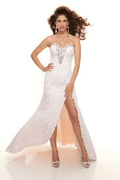 Paparazzi By Mori Lee 93052 Lace Beaded Prom Dress With High Open Slit 💟$357.99 from http://www.www.neoformal.com   #open #by #mori #prom #mywedding #wedding #bridal #high #lee #weddingdress #beaded #slit #bridalgown #with #lace #dress #paparazzi