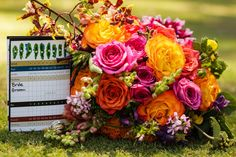Styled Golf Course Wedding Shot -Photo By Mechickoff Photography