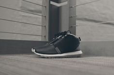 Nike Roshe Run NM Sneakerboot   Black / Dark Grey / Wolf Grey koty