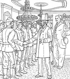 coloring pages of caldecott medal lincolncoloring pages