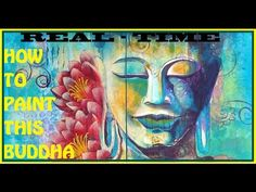 "How to Paint ""Meditating Buddha with two Lotuses"" (Acrylic Painting techniques) by Artyshils Buddha Painting, Buddha Art, Acrylic Painting Techniques, Acrylic Painting Canvas, Paint Techniques, Lotus, Spiritual Paintings, Buddha Meditation, Learn To Paint"
