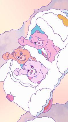 "🎶 ""The Fight Song"" 🎶 from Care Bears Movie 2 Cute Disney Wallpaper, Kawaii Wallpaper, Cute Cartoon Wallpapers, Cute Wallpaper Backgrounds, Wallpaper Iphone Cute, Aesthetic Iphone Wallpaper, Aesthetic Wallpapers, Care Bears, Bear Wallpaper"