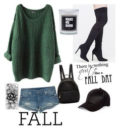 """""""fall"""" by jeneva-tagnipez on Polyvore featuring STELLA McCARTNEY, River Island, True Religion and Casetify"""