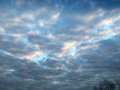 Cada uma nova paisagem #bomdia #céu #nuvens #manha