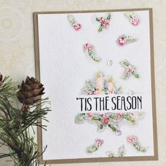 'Tis The Season Card by Heather Nichols for Papertrey Ink (November 2016)