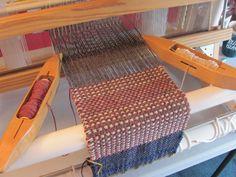 Самый первый шарф проект по улучшению и испытанной ПВХ Loom
