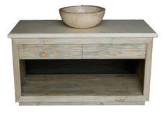 Mid Century Rustic Bathroom Sink Vanity Rustic Bathroom Sinks, White Vanity Bathroom, Bathroom Vanity Cabinets, Wood Vanity, Discount Bathroom Vanities, Discount Bathrooms, Cheap Bathrooms, How To Clean Stone, Mid Century Rustic