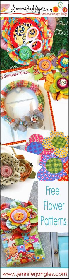 Free Patterns with Flowers