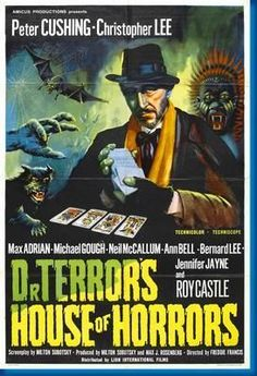 Dr Terrors House Of Horrors Movie Poster 24inx36in
