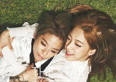 Amber and Luna