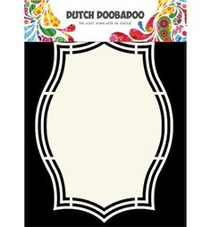 470.713.144 Dutch Doobadoo Shape Art Label 5