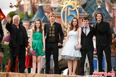 At Disneyland Paris…<3 Love their dresses <3