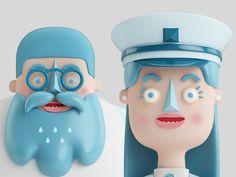 Character Design & Illustrations by Aarón Martínez