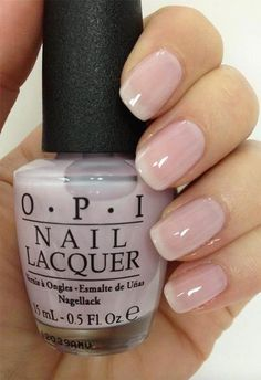 Is an American Manicure? American Manicure: Tips for At-Home American ManicureWhat Is an American Manicure? American Manicure: Tips for At-Home American Manicure Manicure Colors, Nail Polish Colors, Manicure And Pedicure, Natural Manicure, Natural Nail Polish Color, Manicure Ideas, Neutral Nail Polish, Sheer Nail Polish, Opi Nail Polish