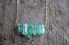 Lanikai Blue Crystal Quartz Stone Bib Necklace with Moonstone Accent by JESDesignStudio on Etsy https://www.etsy.com/listing/225094660/lanikai-blue-crystal-quartz-stone-bib