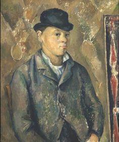 The Artist's Son, Paul, 1885 // by Paul Cezanne