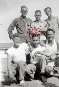 Six military buddies