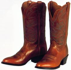 womens western boots | Toe Heritage Western Boot features the traditional R-toe cowboy boot ...