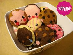 Fieltrunguis Cookies by Fieltrunguis, via Flickr