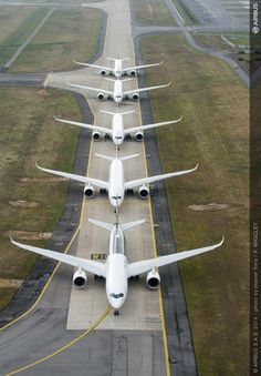 Inside Airbus' A350 XWB Formation Flight | Honeywell Aerospace