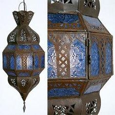DIY Home Decor - From do it yourself to modern rooooom styling tactic and examples. Longing for additional basic decor examples stopover the link to peruse the website idea now Moroccan Theme, Moroccan Lamp, Moroccan Lanterns, Moroccan Design, Middle Eastern Decor, Blue Lantern, Turkish Lamps, Quirky Decor, Hearth And Home