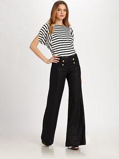 Linen Sailor Pants