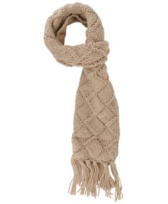 Chunky Knit Tasseled Scarf | FOREVER21 - 1083315134