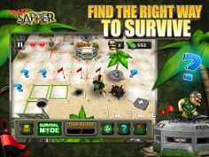 Play an amazing and addictive social arcade game - Crazy Sapper, which combining the classic minesweeper and various puzzle modes. Game Development Company, It Game, Social Games, Online Games, Arcade Games, Amazing