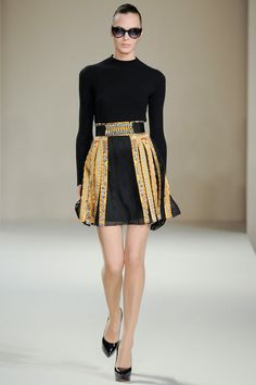 Temperley London Fall 2013 // London Fashion Week //  http://coquetteanddove.com