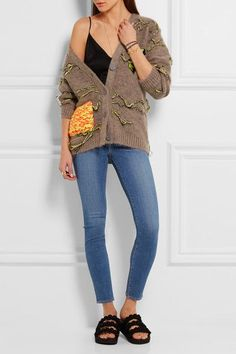 L'Agence - The Chantal Low-rise Skinny Jeans - Mid denim - 27