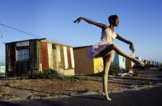 Join this 3 to 4 hour Cape Town Township tour with a local tour guide. The tour consists of minimal walking for a better experience to interact with the locals. Drive for 20 minutes to Langa (the first and oldest township) and Gugulethu (meaning our Anna Karenina, Fotojournalismus, Local Tour, Out Of Touch, Out Of Africa, Contemporary Photography, Dance Art, Ballet Dancers, Ballerinas