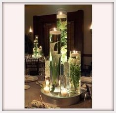 Wedding Flowers, Wedding Centerpieces Non Flowers: wedding centerpieces without flowers