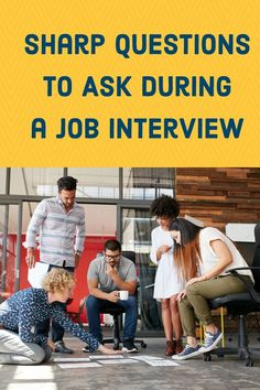 Ask these questions at the end of your next interview.