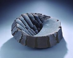 """Akiyama Yo-Japan """"Yo Akiyama established his signature style of sculptural ceramic creation while still in school. His creative mind lies beneath the awareness by facing the nature and energy of clay, expressed through large scale works"""