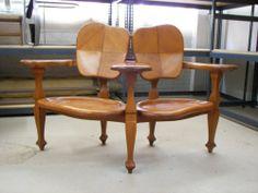 Antoni Gaudi Casa Batllo Wood Bench Chair Art Nouveau Barcelona Spectacular   eBay