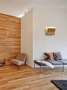 Aplique de pared #led en #madera de roble modelo KITO