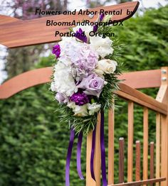 A custom  arbor, designed by Blooms and Rooms PDX, available for rental with many ways to decorate it.