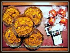 The big man cooks- Pumpkin Oatmeal Breakfast Muffins - The Big Man's World