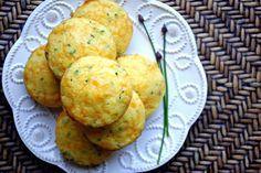 Simply Scratch » Cheddar & Chive Corn Muffins