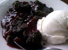 Chocolate Raspberry Dump Cake Recipe