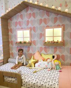Lichtpanele als Fenster! Baby Bedroom, Baby Room Decor, Girls Bedroom, Bedroom Decor, Girl Bedroom Designs, Kids Room Design, Little Girl Rooms, Dream Rooms, Kid Beds
