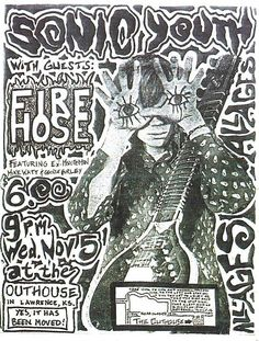 An online archive of punk and post-punk typography including but not limited to album covers, record hubs, posters, t-shirts, and other ephemera. Rock Posters, Band Posters, Event Posters, Movie Posters, Punk Art, Rock And Roll, Illustration Photo, Digital Illustration, Concert Flyer