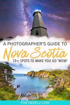 Want to capture the best of Nova Scotia? This photography guide rounds up top locations to get you closer to Nova Scotia's landscapes and culture! Alberta Canada, Ottawa, Canada Destinations, Amazing Destinations, Ontario, Vancouver, Fotografie Guide, Quebec, Nova Scotia Travel