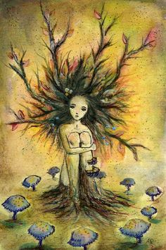 Little dryad by ~The-autumnwind on deviantART