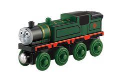 12,95€ Dad & Tracey  Mattel BDG02 - Fisher-Price Thomas und seine Freunde, Mief Holz Lokomotive, medium: Amazon.de: Spielzeug