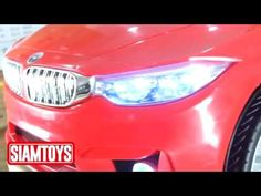 SIAMTOYS - รถเด็ก รุ่น 3751 ทรง BMW Series3(สีแดง) - Line id : @siamtoys...