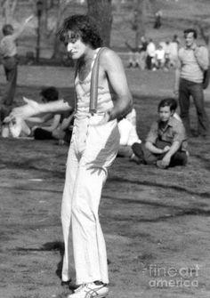 #RobinWilliams Central Park - 1974 / Daniel Sorine #p_americano