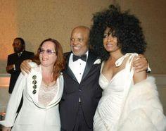 Teena Marie, Barry Gordy & Diana Ross