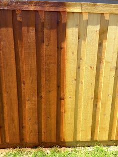 Staining A Cedar Fence